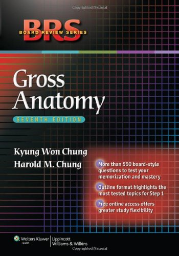 Gross Anatomy  7th 2012 (Revised) edition cover