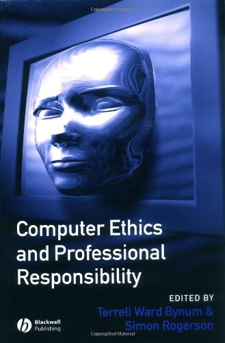 Computer Ethics and Professional Responsibility   2003 edition cover