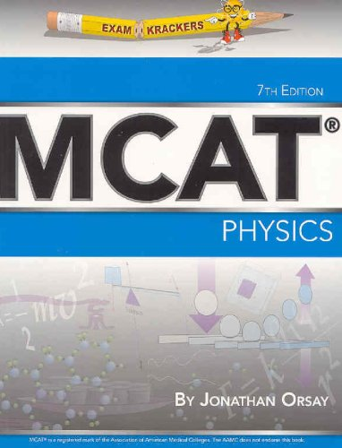 Examkrackers MCAT Physics:  2007 edition cover