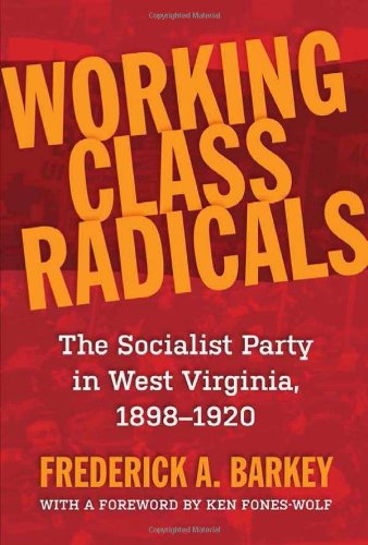 Working Class Radicals The Socialist Party in West Virginia, 1898-1920  2012 9781935978459 Front Cover