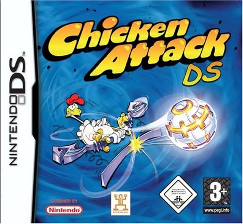 Chicken Attack (Nintendo DS) by Intenium Nintendo DS artwork
