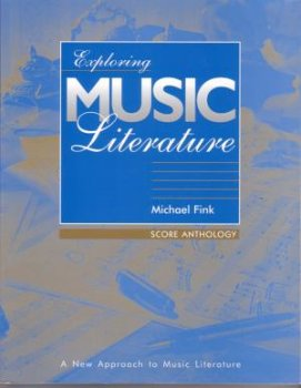 EXPLORING MUSIC LIT.:SCORE ANT 1st 9780028648460 Front Cover