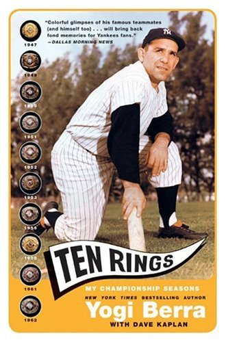 Ten Rings My Championship Seasons  2003 9780060749460 Front Cover