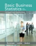 Basic Business Statistic Plus NEW MyStatLab with Pearson EText -- Access Card Package  13th 2015 edition cover