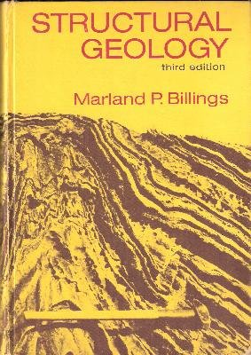 Structural Geology 3rd 1972 edition cover