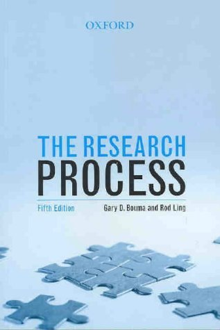 Research Process  5th 2004 (Revised) edition cover