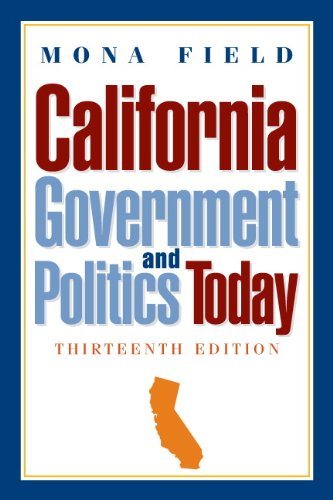 California Government and Politics Today  13th 2011 9780205791460 Front Cover