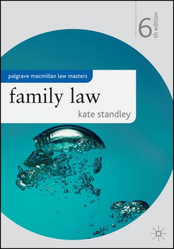 Family Law (Palgrave Macmillan Law Masters) N/A edition cover