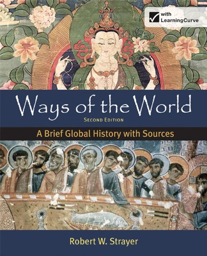 Ways of the World A Brief Global History with Sources 2nd edition cover