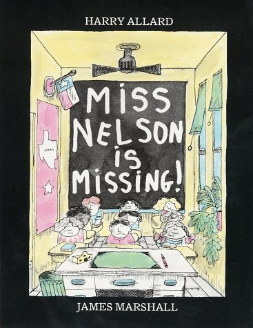 Miss Nelson Is Missing!   1985 edition cover