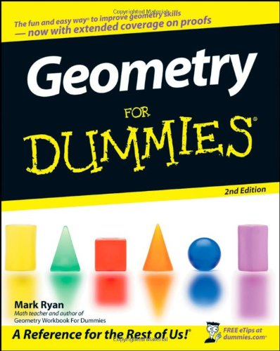 Geometry for Dummies�  2nd 2008 edition cover