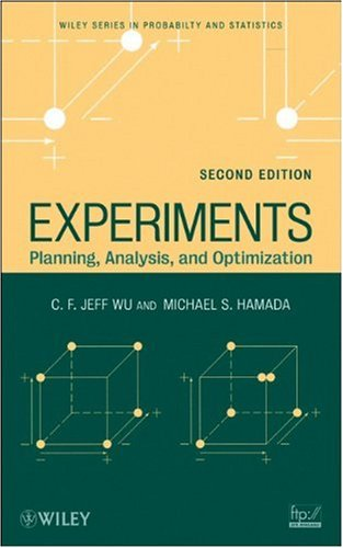 Experiments Planning, Analysis, and Optimization 2nd 2009 edition cover