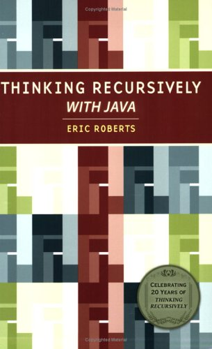 Thinking Recursively with Java  20th 2006 (Special) edition cover