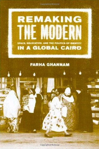 Remaking the Modern Space, Relocation, and the Politics of Identity in a Global Cairo  2002 edition cover