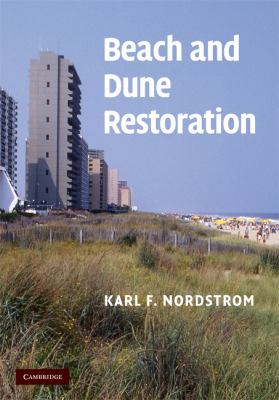 Beach and Dune Restoration   2008 9780521853460 Front Cover