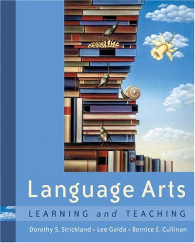 Language Arts Learning and Teaching  2004 9780534567460 Front Cover