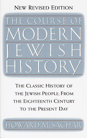 Course of Modern Jewish History  2nd 1990 edition cover