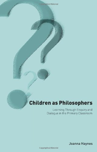 Children as Philosophers Learning Through Enquiry and Dialogue in the Primary Classroom  2001 9780750709460 Front Cover