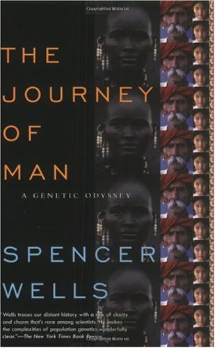 Journey of Man A Genetic Odyssey  2004 (Reprint) edition cover