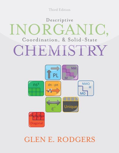 Descriptive Inorganic, Coordination, and Solid-State Chemistry  3rd 2012 edition cover