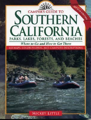 Southern California Parks, Lakes, Forests, and Beaches  2nd (Revised) 9780884152460 Front Cover