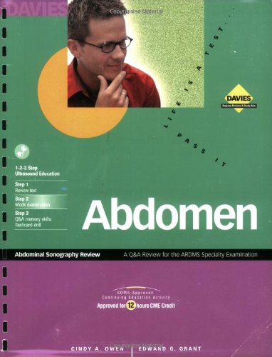 Abdominal Sonography Review 1st 1999 edition cover