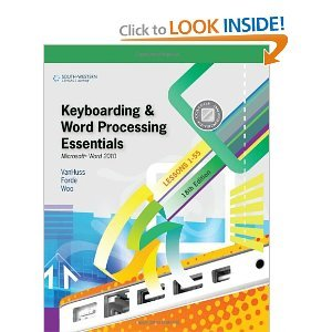Keyboarding Course, Lesson 1-25 with Keyboarding Pro 6: College Keyboarding  18th 2011 edition cover