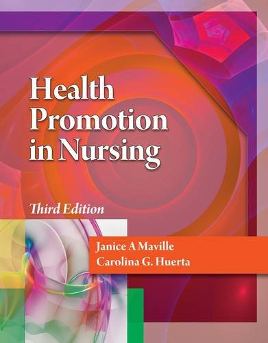 Health Promotion in Nursing  3rd 2013 edition cover
