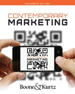 Contemporary Marketing  16th 2014 9781133628460 Front Cover