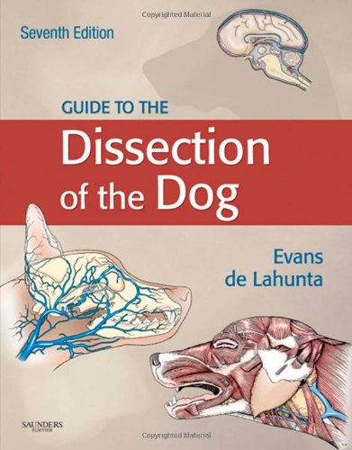 Guide to the Dissection of the Dog  7th 2010 edition cover