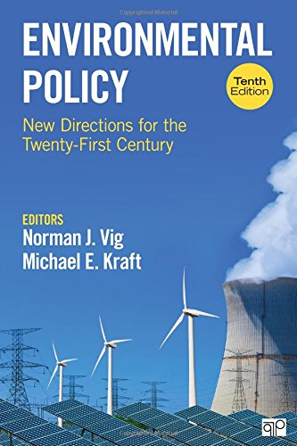 Environmental Policy: New Directions for the Twenty-first Century  2018 9781506383460 Front Cover