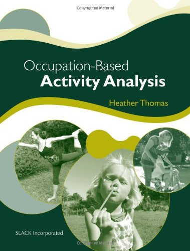 Occupation-Based Activity Analysis   2011 edition cover