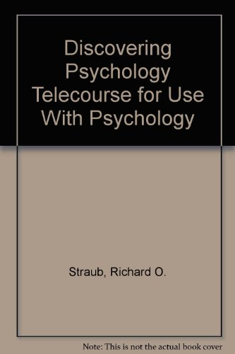 Study Guide for Discovering Psychology Telecourse to Accompany Psychology 5th 9781572595460 Front Cover