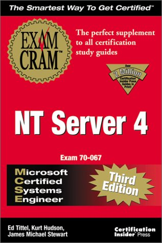 MCSE NT Server 4 Exam Cram : Adaptive Edition 1st 9781576104460 Front Cover