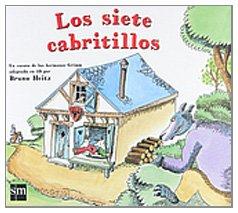 Los 7 cabritillos/ The 7 Baby Goats:  2008 edition cover