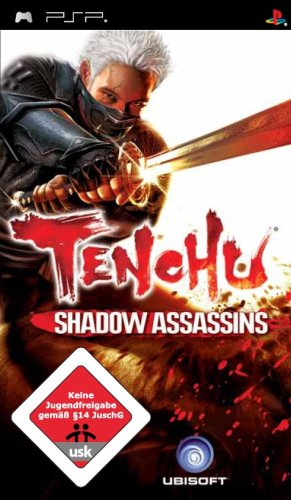 Tenchu: Shadow Assassins Sony PSP artwork