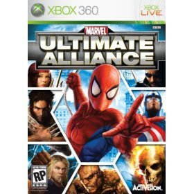Marvel: Ultimate Alliance Xbox 360 artwork