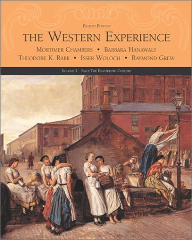 Western Experience: since the Eighteenth Century  8th 2003 (Revised) edition cover
