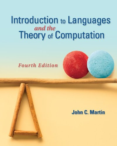 Introduction to Languages and the Theory of Computation  4th 2011 edition cover