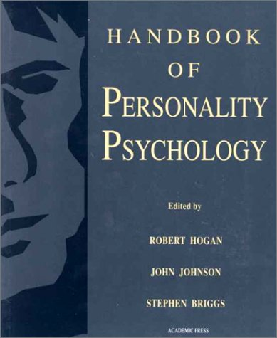 Handbook of Personality Psychology   1997 edition cover