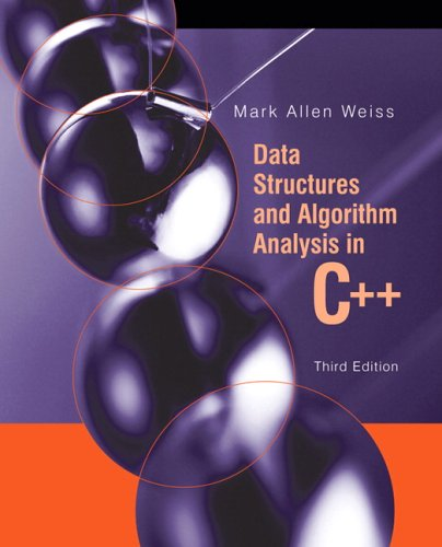 Data Structures and Algorithm Analysis in C++  3rd 2007 edition cover