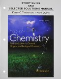Study Guide and Selected Solutions Manual for Chemistry An Introduction to General, Organic, and Biological Chemistry 12th 2015 edition cover