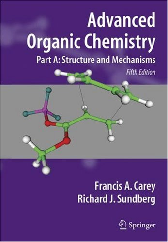Advanced Organic Chemistry  5th 2007 (Revised) edition cover