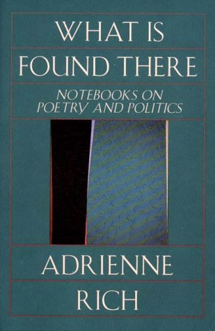 What Is Found There Notebooks on Poetry and Politics  1994 (Revised) edition cover