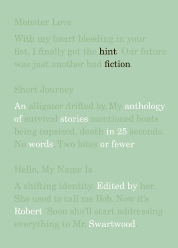 Hint Fiction An Anthology of Stories in 25 Words or Fewer  2010 edition cover