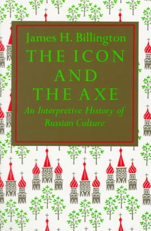 Icon and Axe An Interpretative History of Russian Culture  1970 edition cover