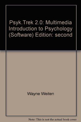 PSYK.TREK 2.0:MULTIMED.INTRO.T 2nd 2002 9780495100461 Front Cover