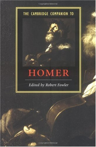Cambridge Companion to Homer   2004 edition cover