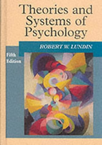 Theories and Systems of Psychology  5th 1996 edition cover