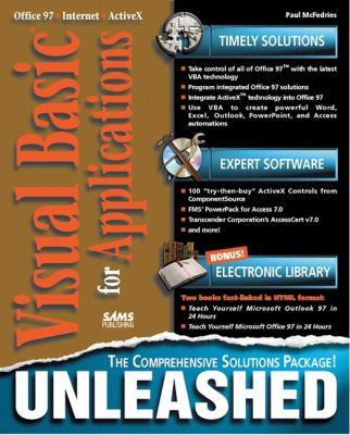 Visual Basic for Applications   1997 9780672310461 Front Cover
